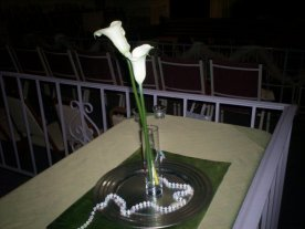 Cala Lilly Centerpiece (simple)